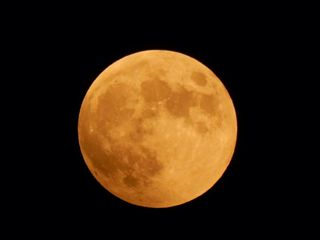 皆既月食&お月見ヨガ