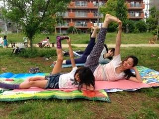 公園ヨガイベント