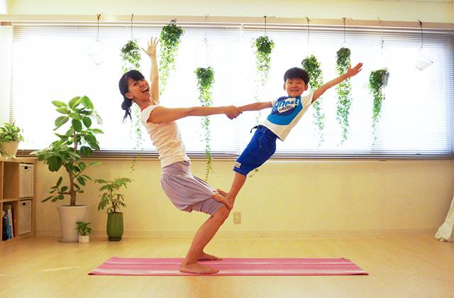 親子体操&ヨガ